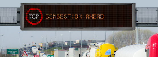 Roadsign: TCP Congestion Ahead